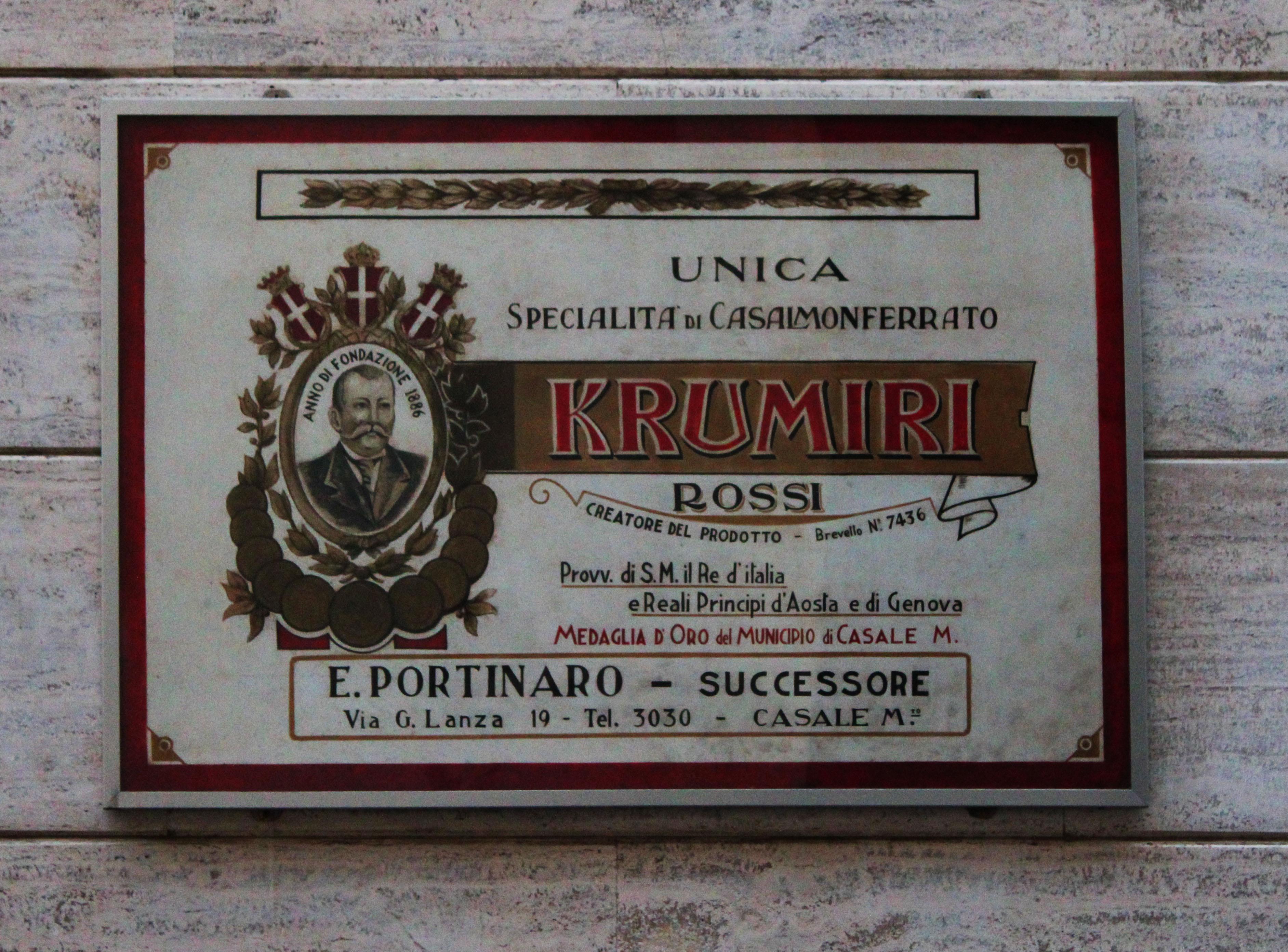 negozizo krumiri rossi casale monferrato