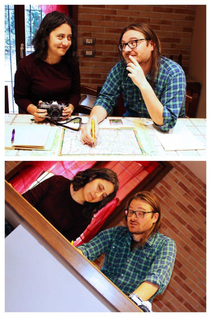 Martina e Daniele organizzano il loro prossimo viaggio in Monferrato