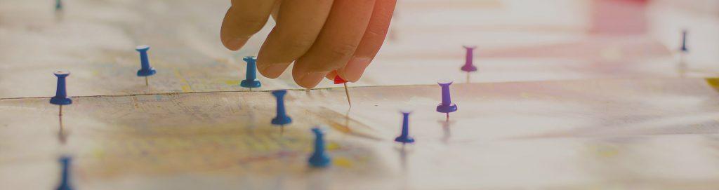 Decidere il percorso del viaggio