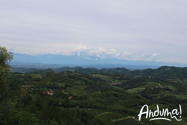 colline e arco alpino Albugnano