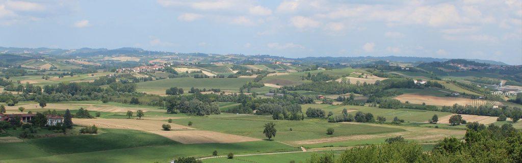 panorama colline del monferrato