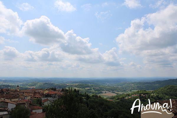 strada panoramica Cocconato Monferrato