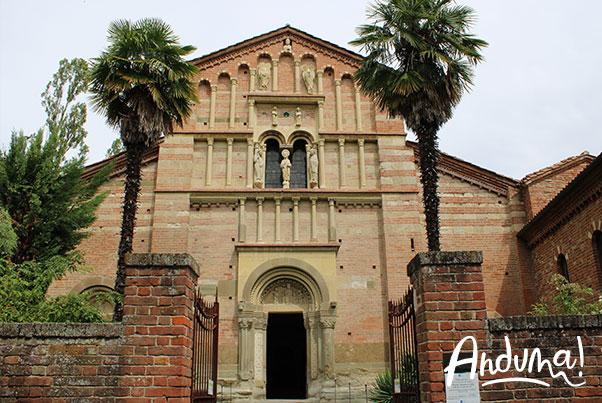 facciata abbazia di vezzolano