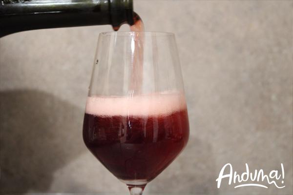 vino rosso spumante