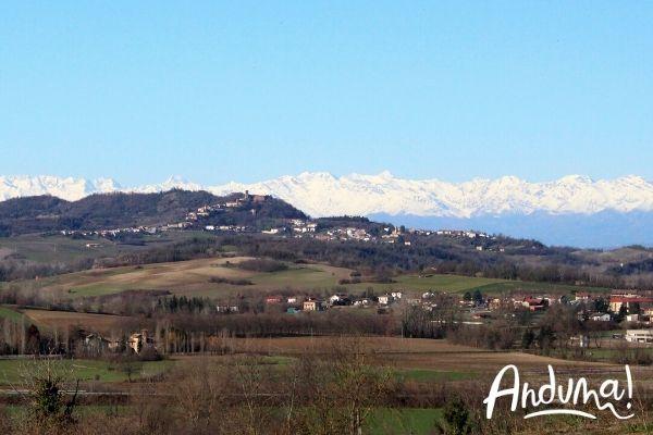 itinerario panoramico nel monferrato