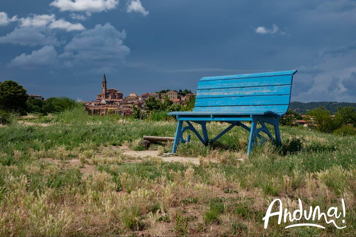 big bench piemonte monferrato