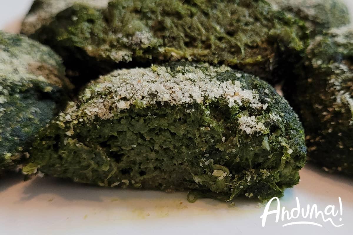 friciulin polpette spinaci monferrato
