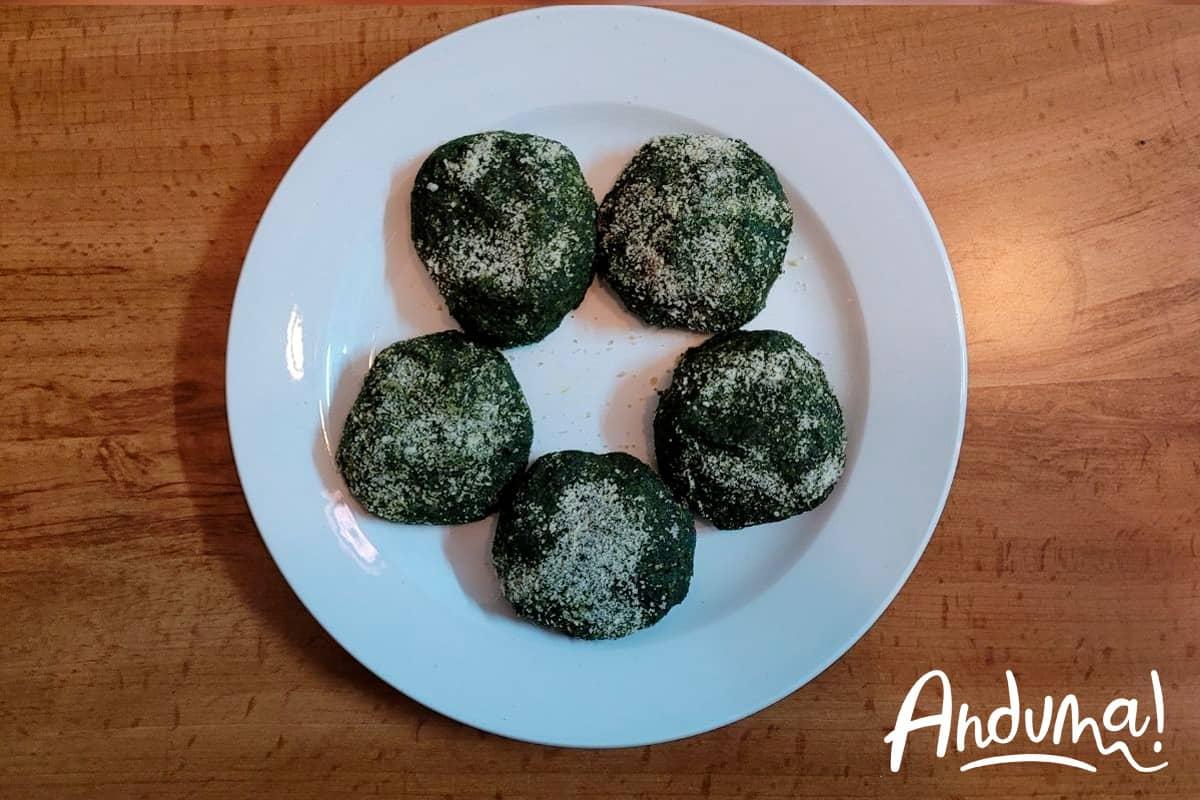 frittatine verdi piemontesi